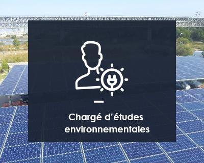 Chargé(e) d'études environnementales H/F