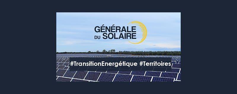 Découvrez les dernières réalisations de Générale du Solaire : nos centrales solaires en images !