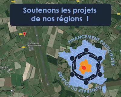 Creuse : investissez pour la transition énergétique de votre région – Centrale solaire  – Aéroport de Montluçon-Guéret