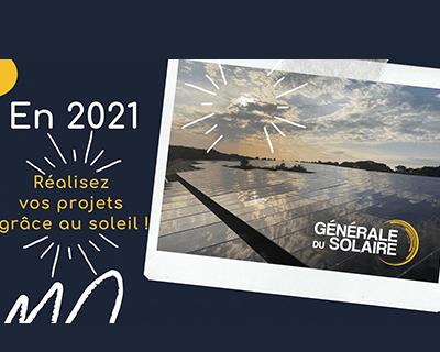 En 2021, réalisez tous vos projets grâce au soleil !