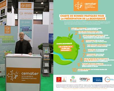 Générale du Solaire signataire de la charte biodiversité de Cémater.
