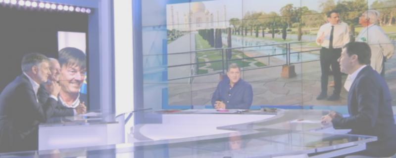 Daniel Bour invité d'Yves Calvi sur Canal+