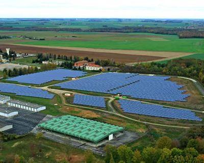 Ouverture de la plus grande centrale solaire d'Île de France (Le Figaro)