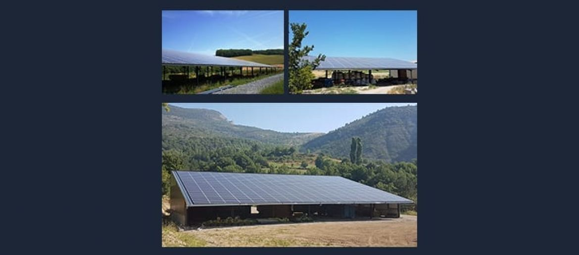 Solar energy combines energy transition and agricultural development
