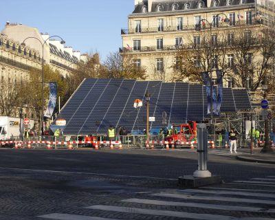 IKEA et GÉNÉRALE DU SOLAIRE illuminent les Champs-Elysées (Le journal des énergies renouvelables)