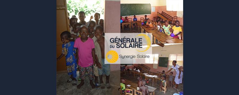 Des nouvelles en image de notre projet humanitaire au Bénin