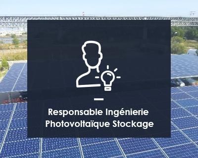 Responsable Ingénierie Photovoltaïque Stockage H/F